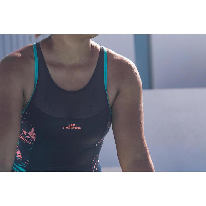 Badeanzug Aquafitness Lena Juni Damen blau