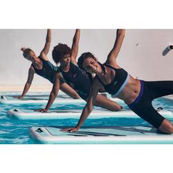 Bikinitop voor aquafitnes dames Anny zwart/blauw