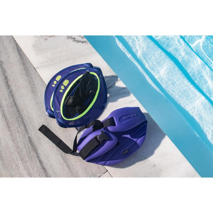 Pullstep Mesh Aquafitness Aquagym blau/gelb