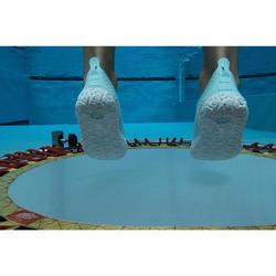 Chaussons Aquagym,Aquabike et Aquafitness Aquadots vert blanc
