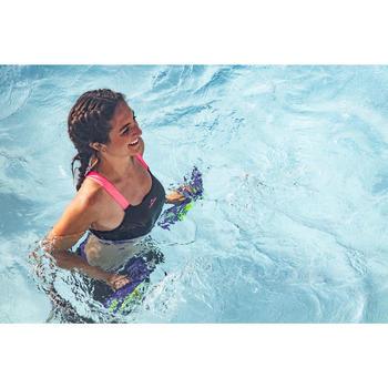 Haut de maillot de bain d'Aquafitness femme Anna noir rose