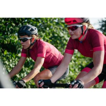 Kurzarm-Radtrikot Rennrad RC 900 Damen pink