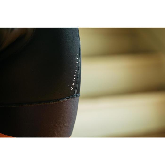 Fietsbroek 900 zonder bretels dames zwart