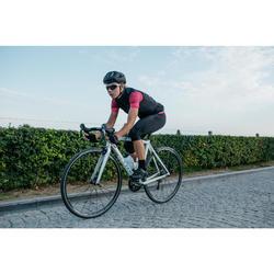¾-Radhose Rennrad 900 Damen schwarz