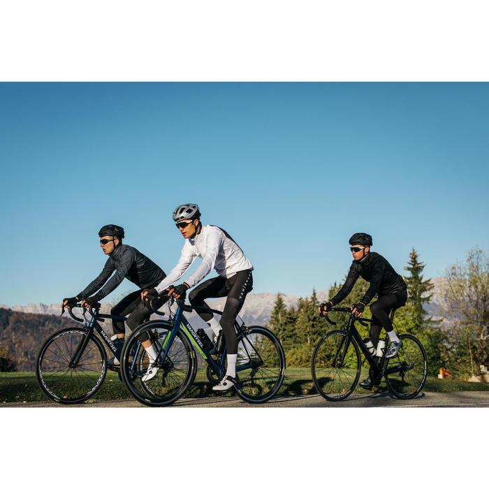 Fahrrad-Windjacke Rennrad RR 500 Herren weiß