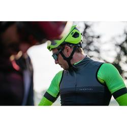 Fahrrad-Weste Rennrad Windbreaker RR 900 Herren schwarz