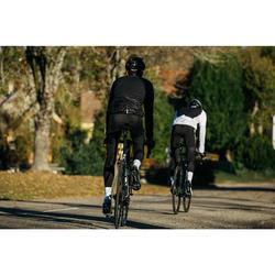 Fahrrad-Windjacke Rennrad RR 500 Herren schwarz