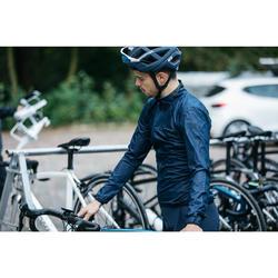 Fahrrad-Windjacke Rennrad RR 500 Herren marineblau