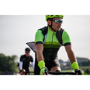 Mouwloos wielrenjack RR900 team voor heren zwart