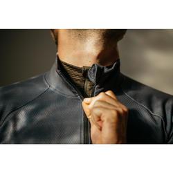 Wielershirt heren RC900 met lange mouwen zwart