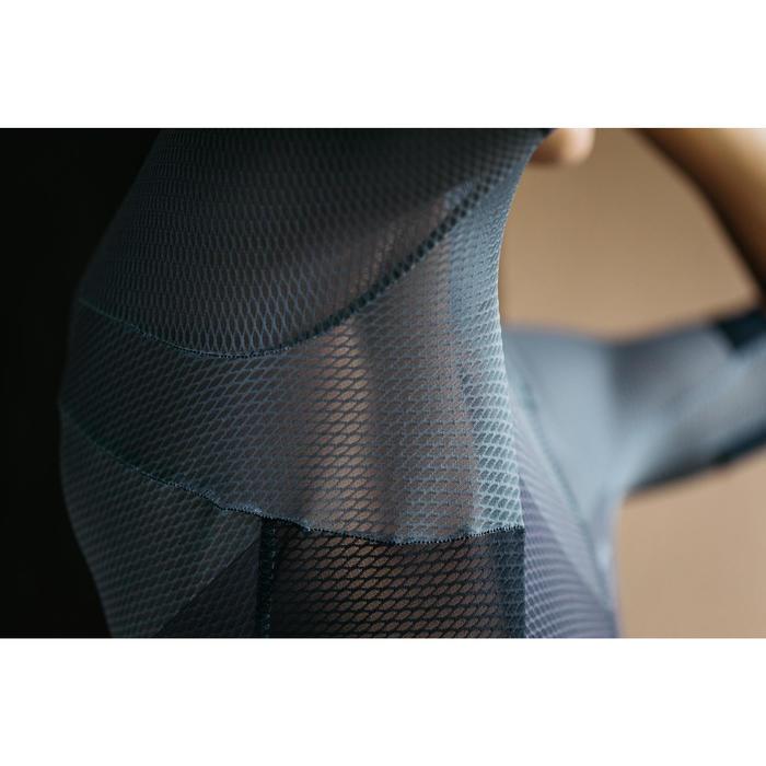 Wielershirt RR900 mesh met korte mouwen voor heren grijs