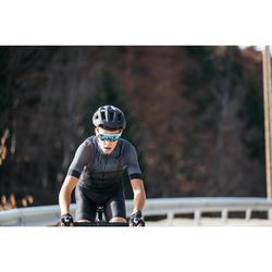 Fahrradtrikot kurzarm Rennrad RR 900 Team Mesh Herren schwarz
