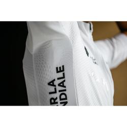 Wielershirt RR500 korte mouwen voor heren wit