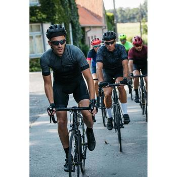 Sportive Road Cycling Summer Jersey - Black