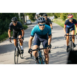 MAILLOT VELO ROUTE ETE HOMME CYCLOSPORT BLEU
