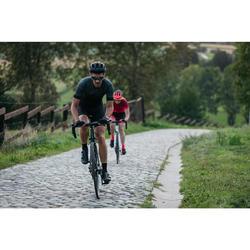 MAILLOT VELO ROUTE ETE HOMME CYCLOSPORT NOIR