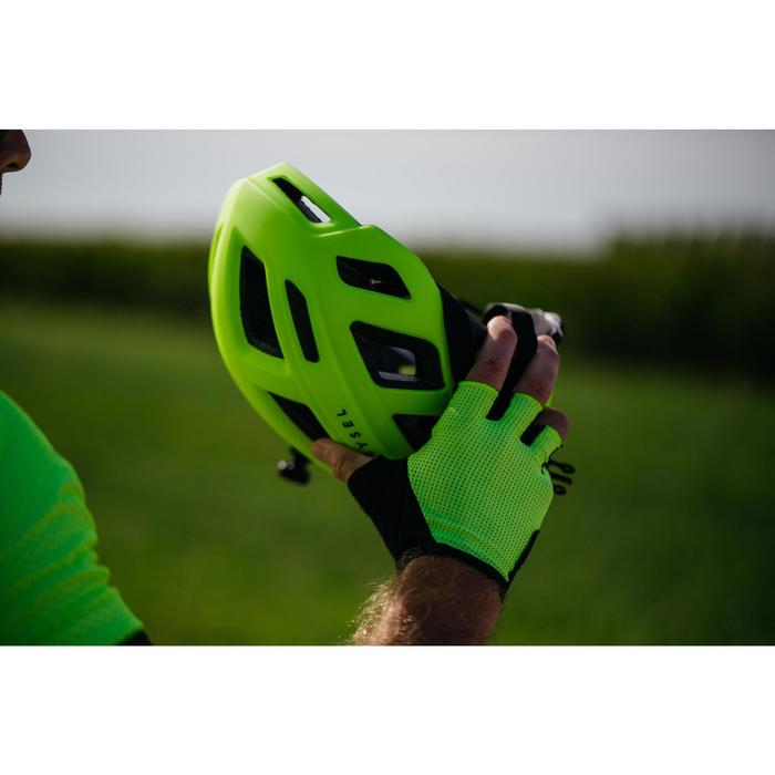 Fahrradhelm Rennrad RR 500 neongelb