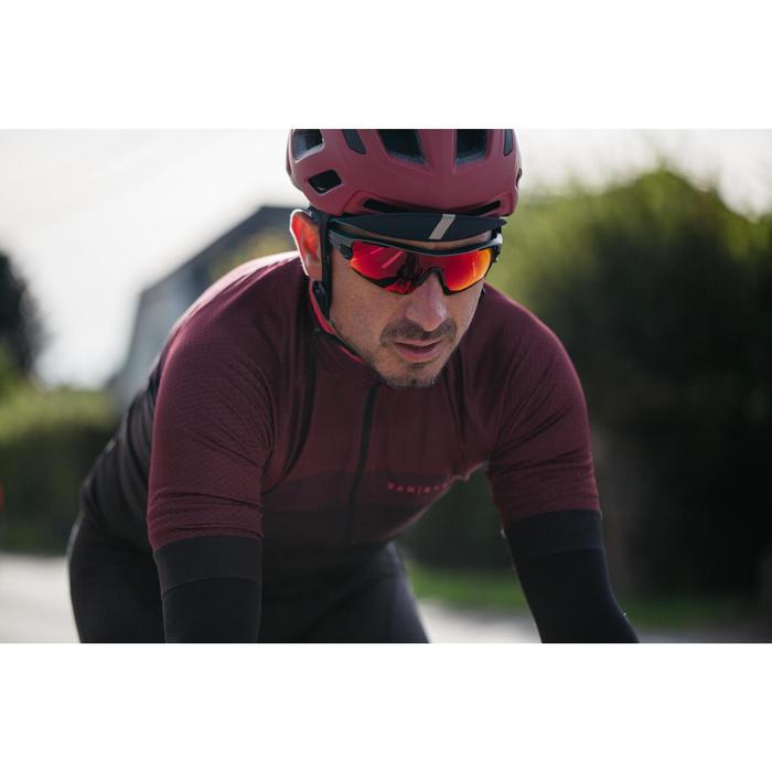 Fahrradhelm Rennrad RR 500 Damen rot