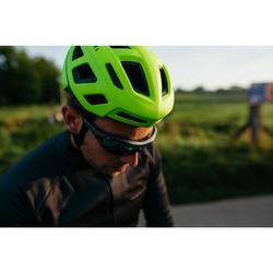 Fietshelm wielrennen Roadr 500 fluogeel