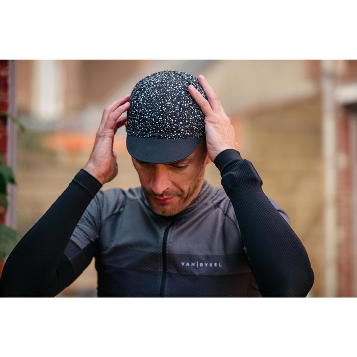 Gorra de ciclismo ROADR 500 negro
