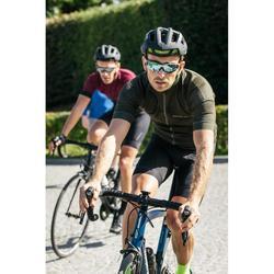 MAILLOT VELO ROUTE ETE HOMME CYCLOSPORT KAKI WAVE