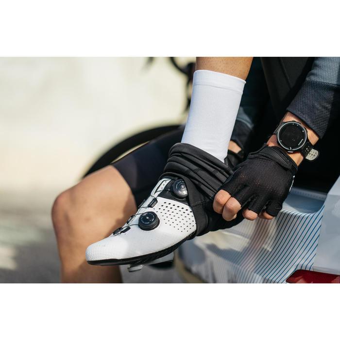 Fahrrad-Knielinge Rennrad RR 900 schwarz für kühles Wetter