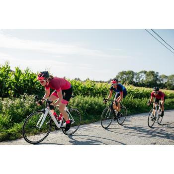 Kurzarm-Radtrikot Rennrad RC 900 Damen rosa