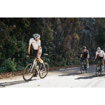 Kurze Fahrrad-Trägerhose Rennrad RR 500 U19 Herren