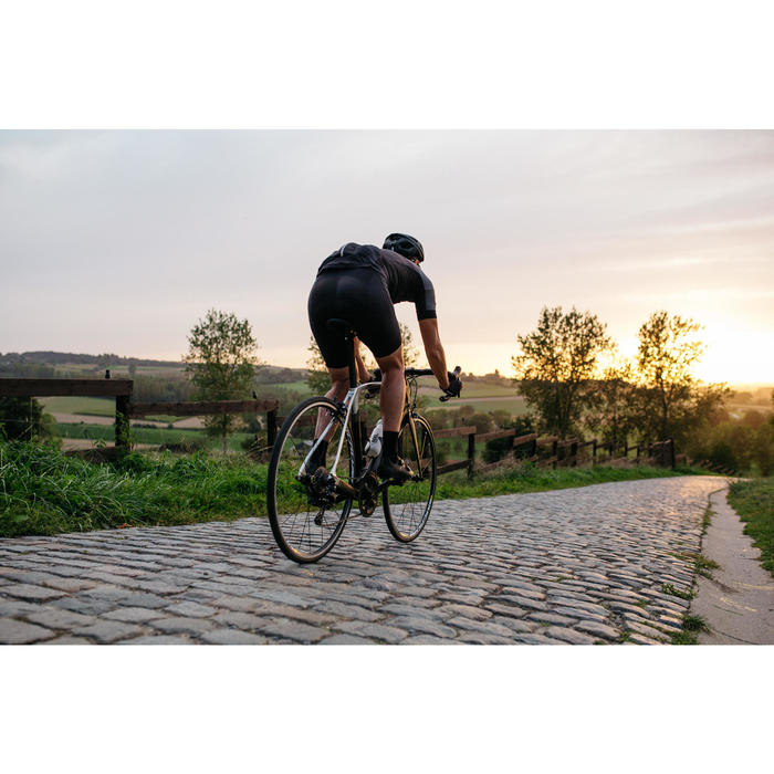CUISSARD VELO ROUTE ETE HOMME CYCLOSPORT NOIR