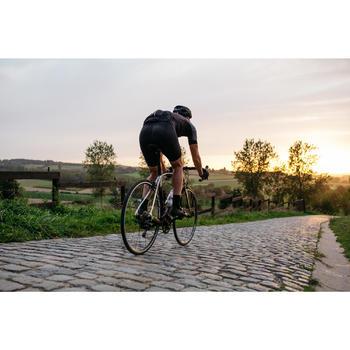 Kurze Fahrrad-Trägerhose Rennrad RR 500 Herren schwarz