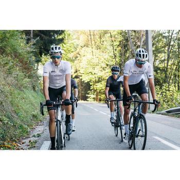 Kurze Radhose mit Trägern Rennrad RR 500 U19 Team Herren