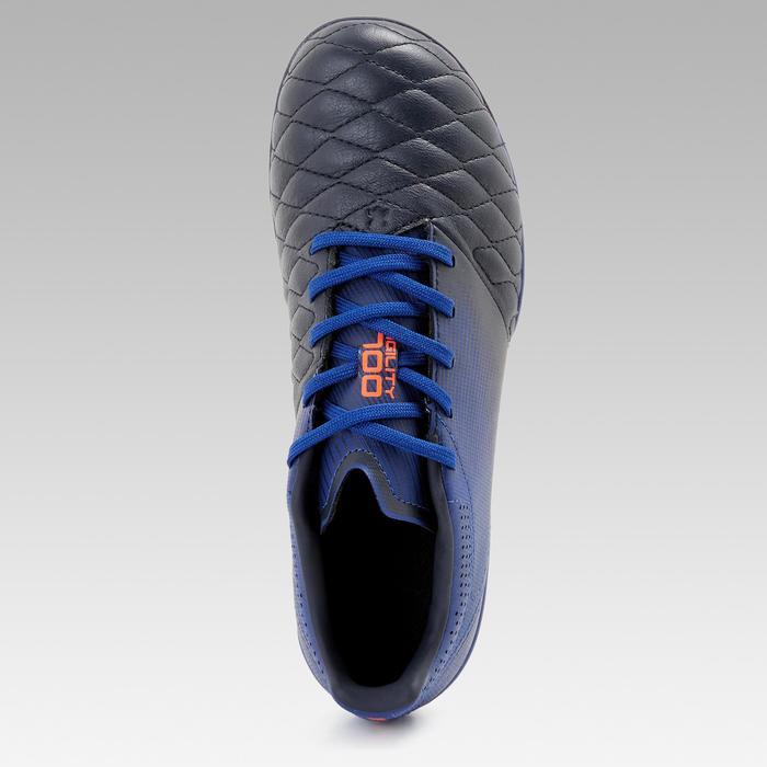 兒童款皮革鞋面天然草地足球鞋MG AGILITY540