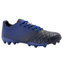 Kids' MG Football Boots with Leather Vamps Agility 700