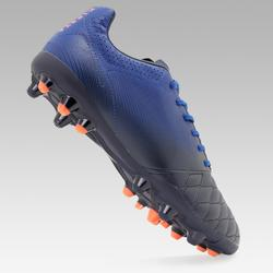 Kids' MG Football Boots with Leather Vamps Agility 540