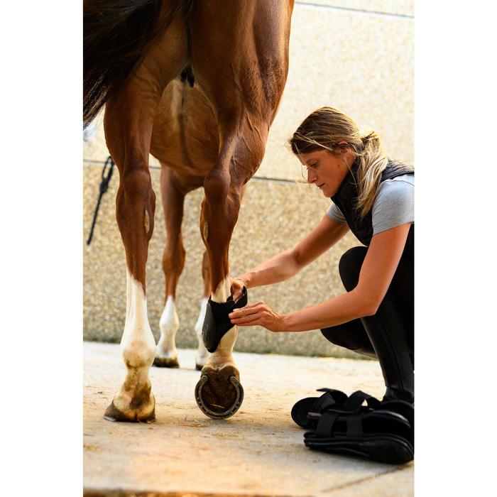 Protège-boulets cheval 500 JUMP noir