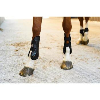 Open peesbeschermers 500 Jump paard zwart