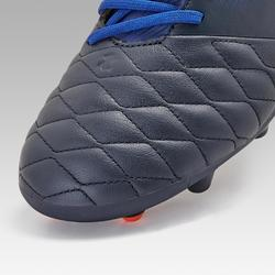Agility 540 Adult Leather MG Dry Pitch Football Boots - Midnight Blue