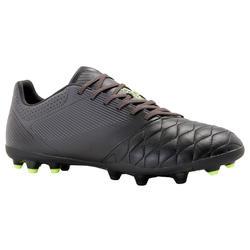 成人款皮革足球鞋Agility 540 MG-黑色