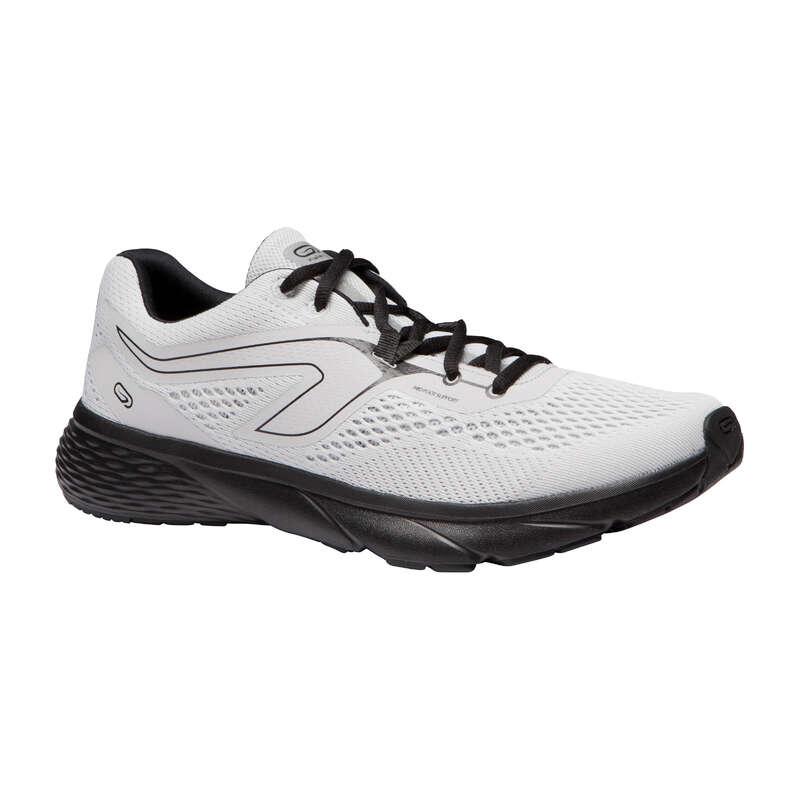 PÁNSKÁ OBUV Běh - BĚŽECKÉ BOTY RUN SUPPORT BÍLÉ KALENJI - Běžecká obuv