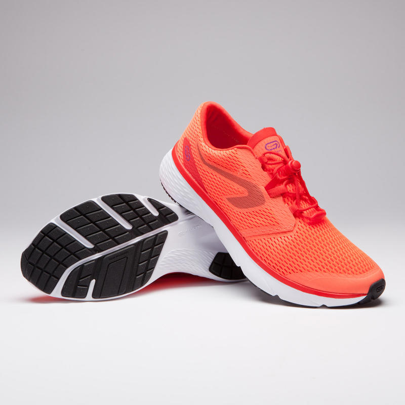 MEN'S JOGGING SHOES RUN SUPPORT BREATHE - RED