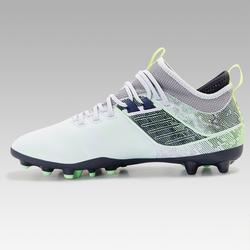 Agility 900 MiD MG Adult Dry Pitch Football Boots - Grey/Blue