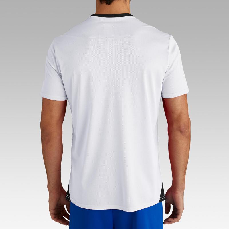 Maillot de football adulte F100 blanc