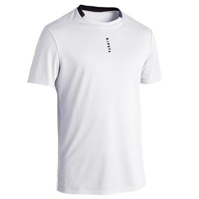 Maillot de football éco-conçu adulte F100 blanc