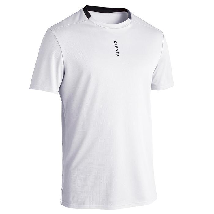 Camiseta Fútbol adulto Kipsta F100 blanco