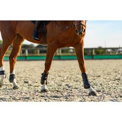Gamaschen offen 500 Jump Pferd schwarz