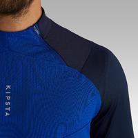 T500 Adult 1/2 Zipper Soccer Sweatshirt - Blue