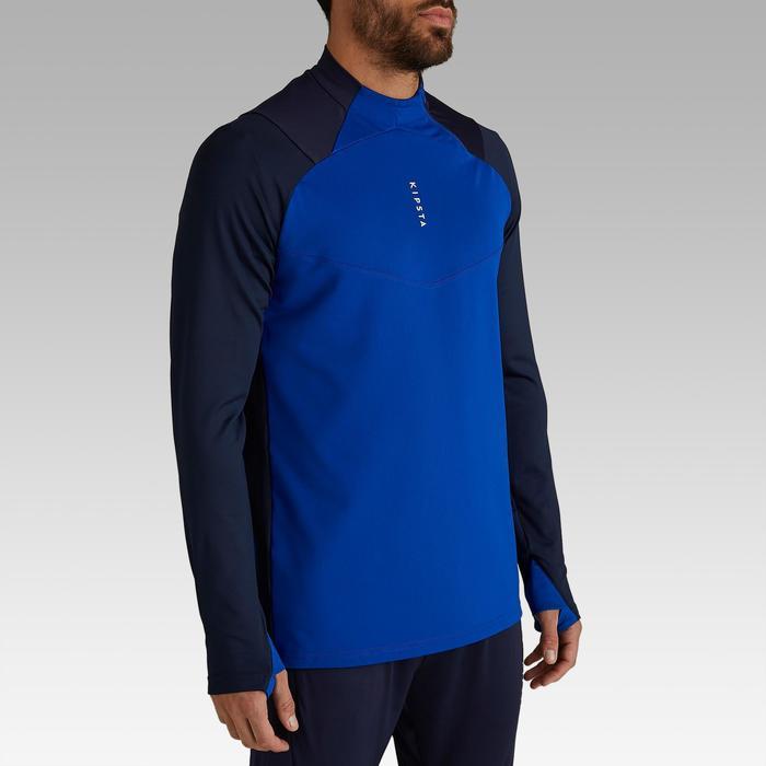 Trainingsjack voetbal T500 blauw