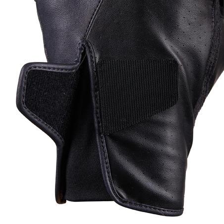 Sarung Tangan Berkuda 500 - Hitam