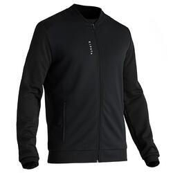T100 Adult Light Football Jacket - Carbon Black