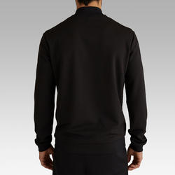 T100 Light Soccer Jacket Carbon Black